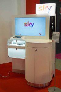 Sky Italia – Testata gondola spazio Sky per GDO