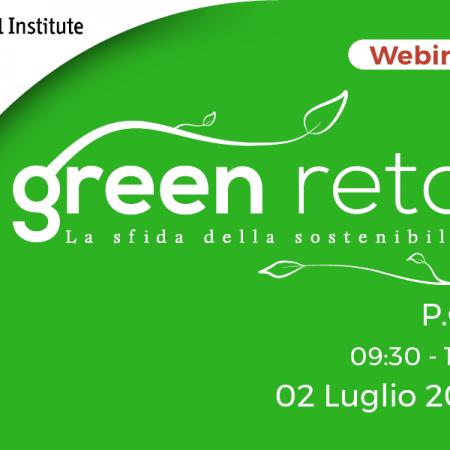 """WEBINAR """"Green Retail: la sfida della sostenibilità – P.O.P."""" – 02/07/2020"""