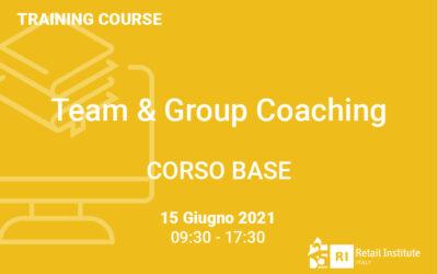 "Training Course ""Team & Group Coaching"" – BASE – 15 giugno 2021"