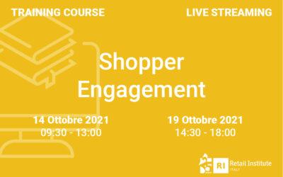 """Training Course """"Shopper Engagement"""" – 14 e 19 ottobre 2021"""