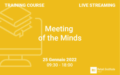 """Training Course """"Meeting of the Minds"""" – 25 gennaio 2022"""