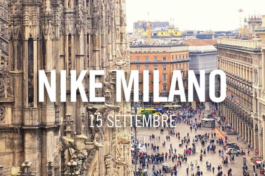 Apre il 15 settembre lo store Nike più grande d Italia. Il nuovo flagship  del colosso sportswear sarà inaugurato in corso Vittorio Emanuele II e435760b2db6